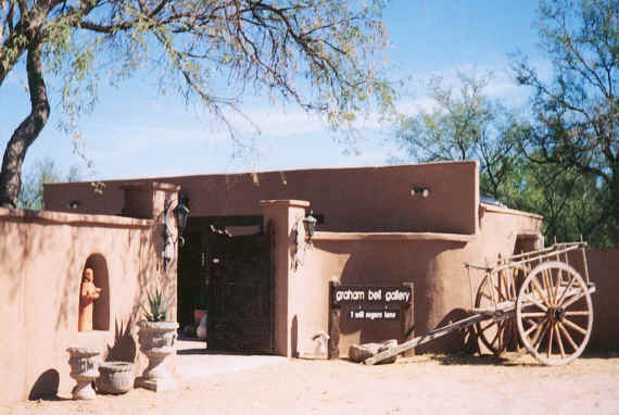 Graham Bell Gallery in Tubac, Arizona